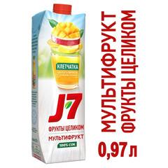 Сок J7 мультифруктовый с мякотью 0.97 л