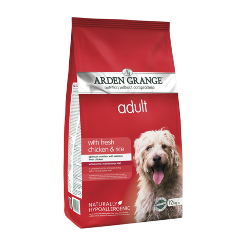 Arden Grange Adult Сухой корм для взрослых собак Курица и Рис
