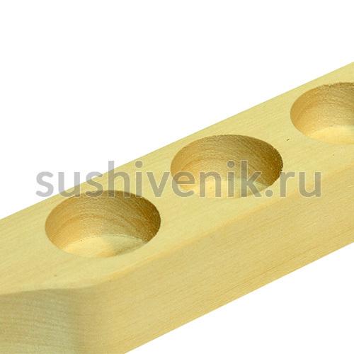 Полочка-подставка для масел из липы