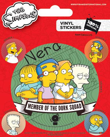 Набор стикеров Симпсоны