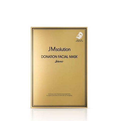 Увлажняющая и укрепляющая маска JMSOLUTION Donation Facial Mask Save