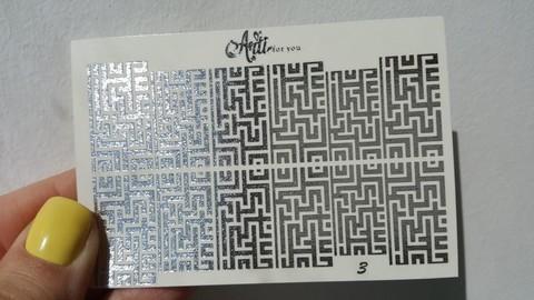 Слайдер фольгированный №003-С РА