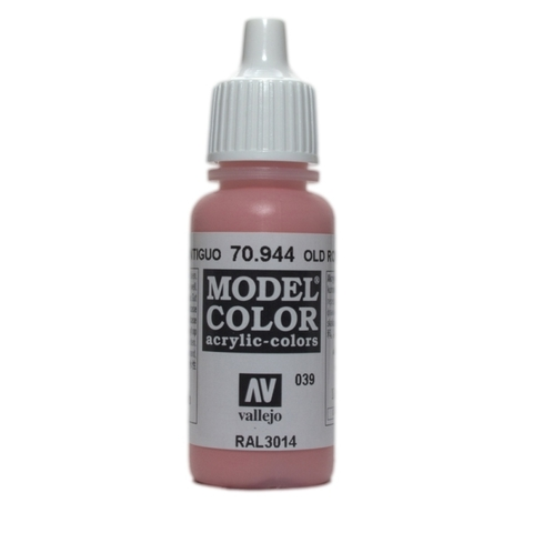Model Color Old Rose 17 ml.