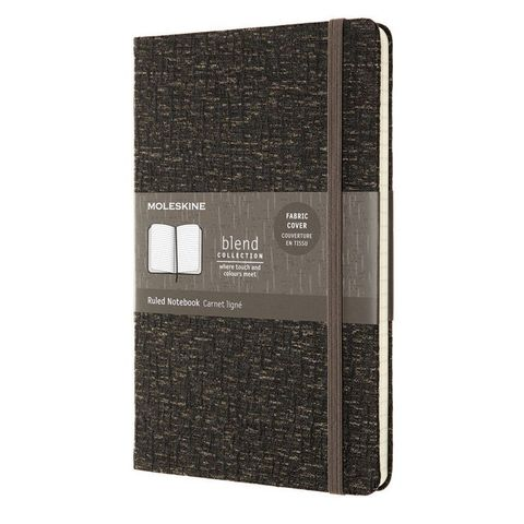 Блокнот Moleskine LIMITED EDITION BLEND LCBD05QP060A Large 130х210мм 192стр. линейка мягкая обложка коричневый