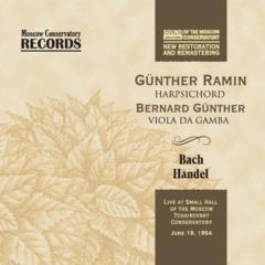 Гюнтер Рамин (клавесин), Бернард Гюнтер (виола да гамба).