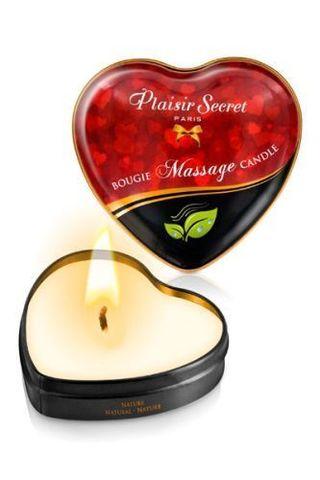 Массажная свеча с нейтральным ароматом Bougie Massage Candle - 35 мл.