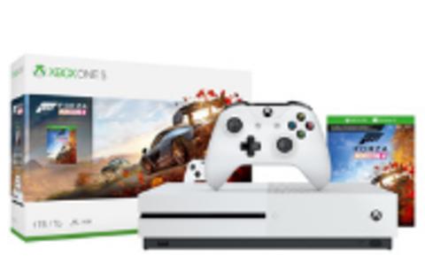 Игровая консоль Xbox One S 1 ТБ + Forza Horizon 4 (234-00562)