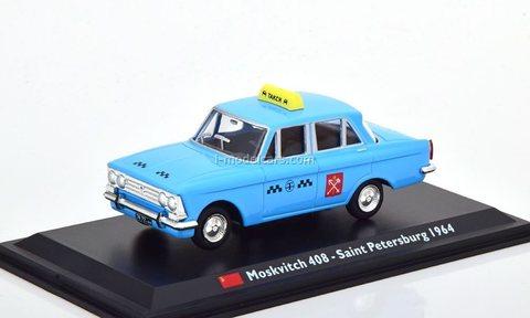 Moskvich-408 Taxi Saint Petersburg (Leningrad) 1964 Altaya
