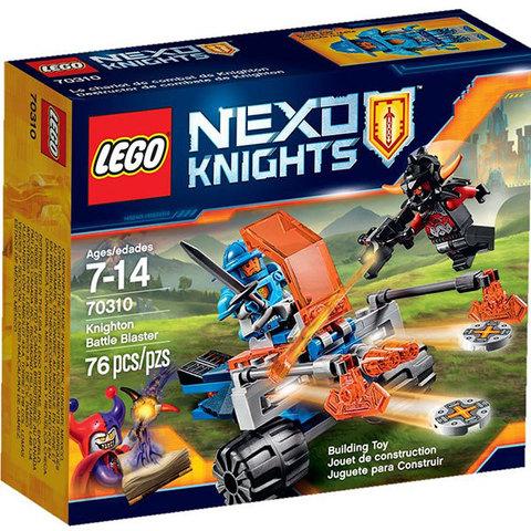 LEGO Nexo Knights: Королевский боевой бластер 70310 — Knighton Battle Blaster — Лего Нексо Рыцари