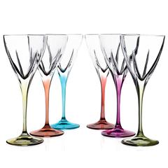 Набор бокалов для вина RCR Fusion 250мл (6 шт), фото 1
