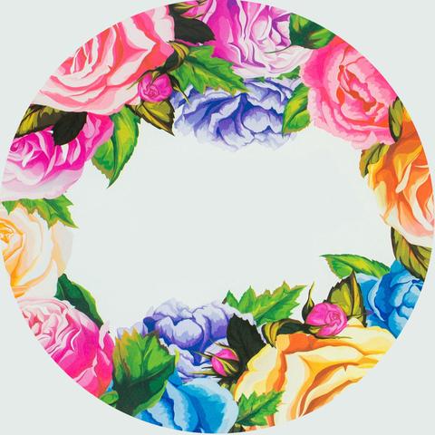 Печать на сахарной бумаге, Цветы 7