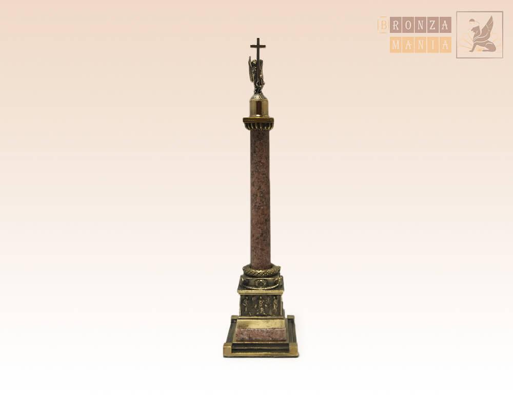 фигурка Александрийский столп малый гранит