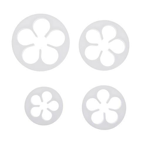 Формочки для печенья и марципана «Цветочки» 4-6,5 см