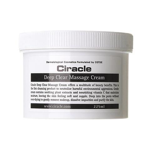Очищающий крем Ciracle Deep Clear Massage Cream 225ml