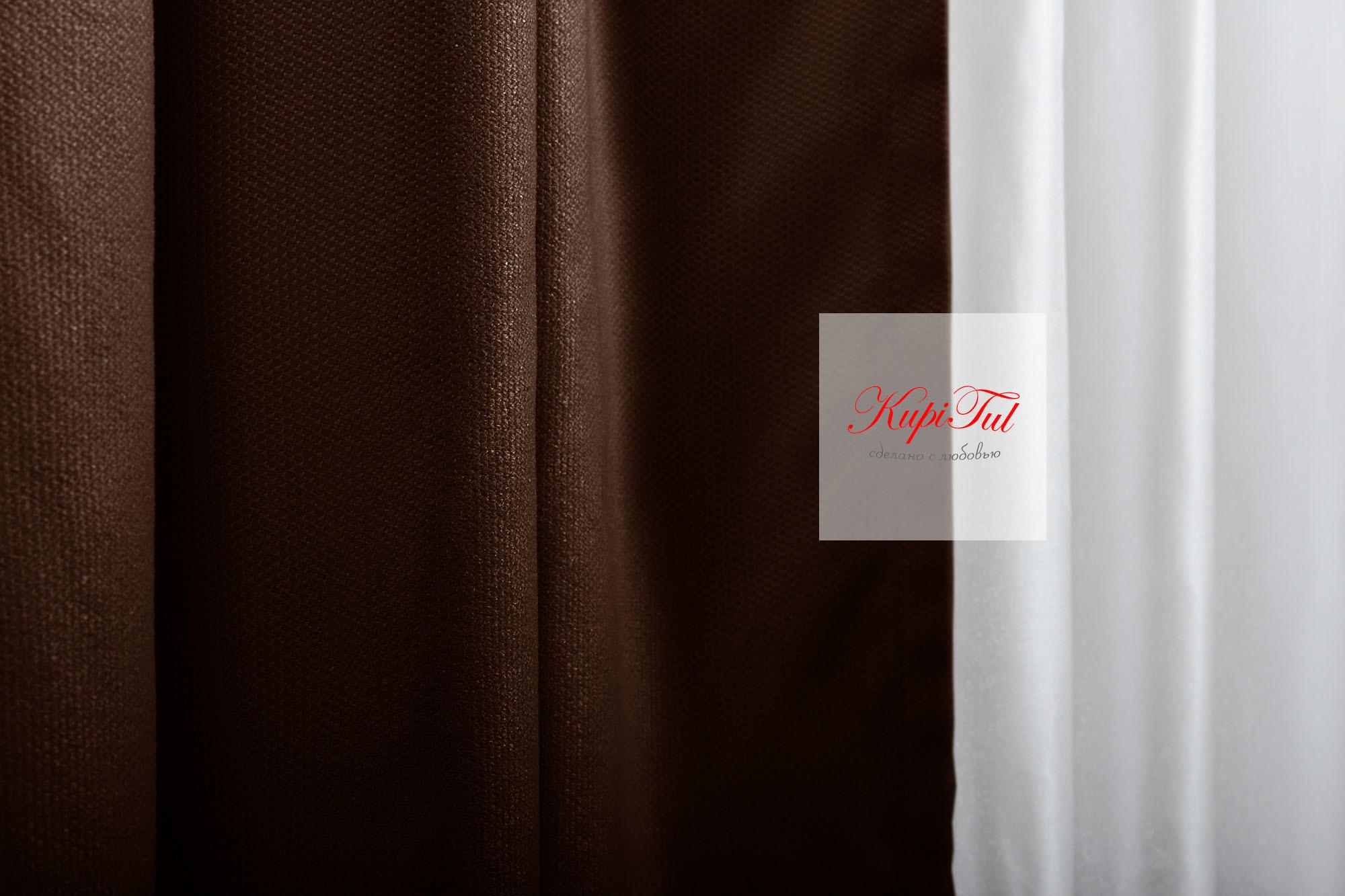 XL-комплект штор Ницца (венге)