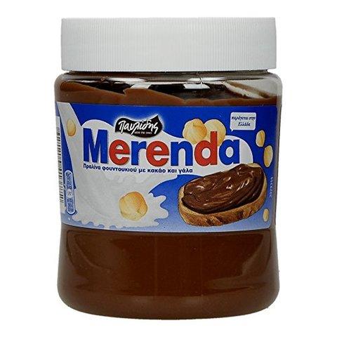 Шоколадно-ореховая паста MERENDA HAZELNUT PRALINE