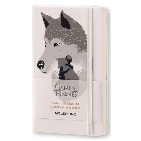Блокнот Moleskine Limited Edition GAME OF THRONES LEGTQP012 Pocket 90x140мм 192стр. нелинованный