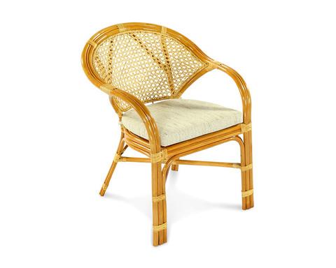 Кресло плетеное из ротанга Java-B