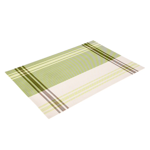 Салфетка сервировочная «Геометрия» олива 30х45 см