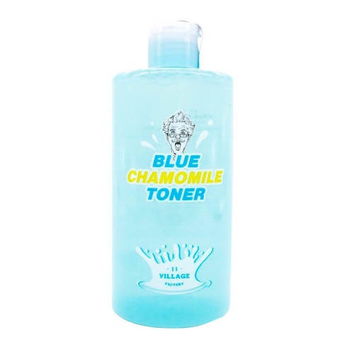 VILLAGE 11 FACTORY Blue Chamomile Toner тонер с ромашкой 400 мл