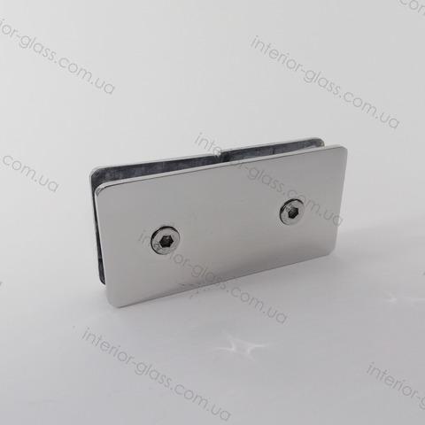 Соединитель для стекла 180 град. HDL-724 PSS штампованный нерж. сталь