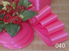 Лента атласная шириной 6мм розовая - 040