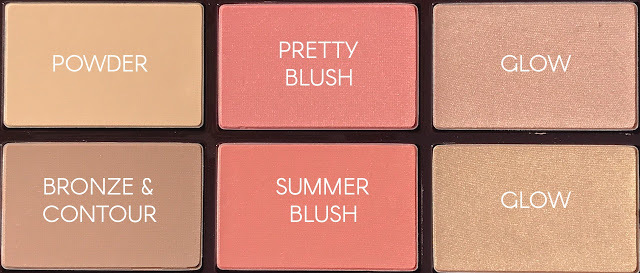 Палетка для лица Glowing, Pretty Skin Palette