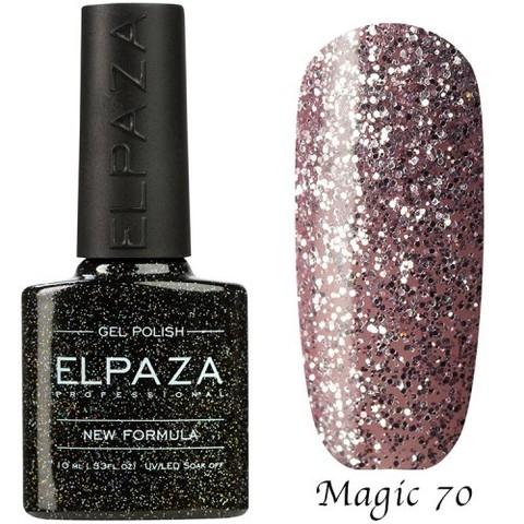 Гель лак Elpaza Magic, РОЗОВЫЙ ХРУСТАЛЬ 70