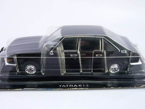 Tatra 613 black 1:43 DeAgostini Auto Legends USSR #160