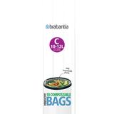 Пакет пластиковый биоразлагаемый C 10/12 л 10 шт, артикул 419782, производитель - Brabantia