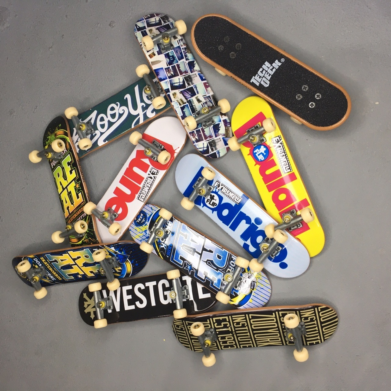Фингер Tech Deck assorted