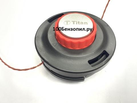 Катушка с леской для триммера c подшипником полуавтоматическая (болт М10*1.25 левая)