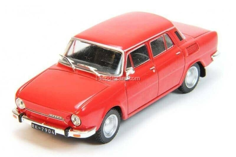 Skoda 100 red 1:43 DeAgostini Auto Legends USSR #188