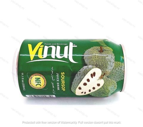 напиток с соком анноны, Vinut, 330 мл