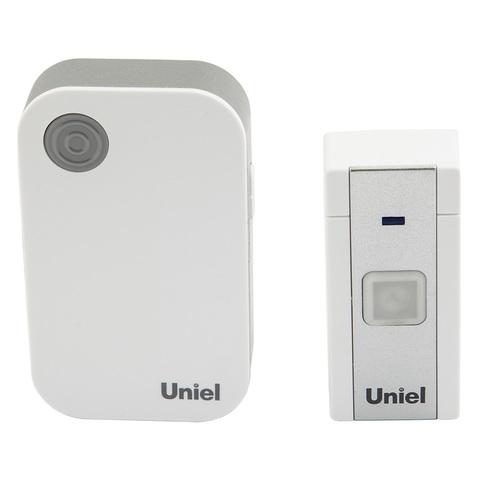 UDB-013W-R1T1-36S-100M-WH Звонок беспроводной. 36 мелодий. Радиус действия 100м. Блистер. Белый. ТМ Uniel