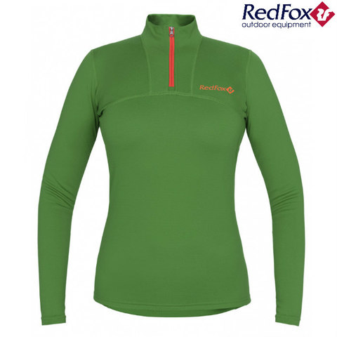 Рубашка 1/2 Element Merino зеленая Женская