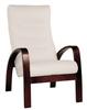 Кресло «Ладога-2», ткань миндаль, каркас венге структура, GREENTREE, г. Воронеж