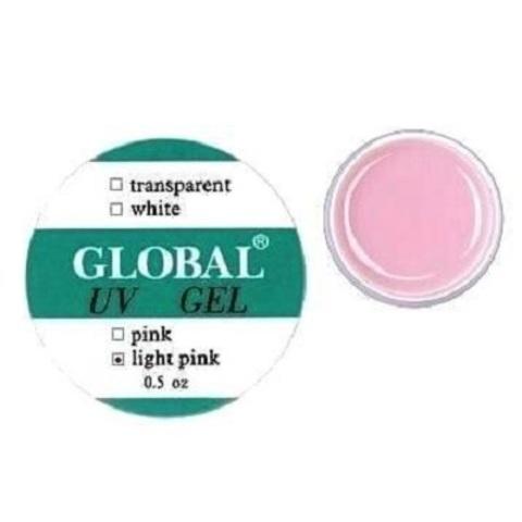Гель для наращивания  Global, Light pink, 15 мл