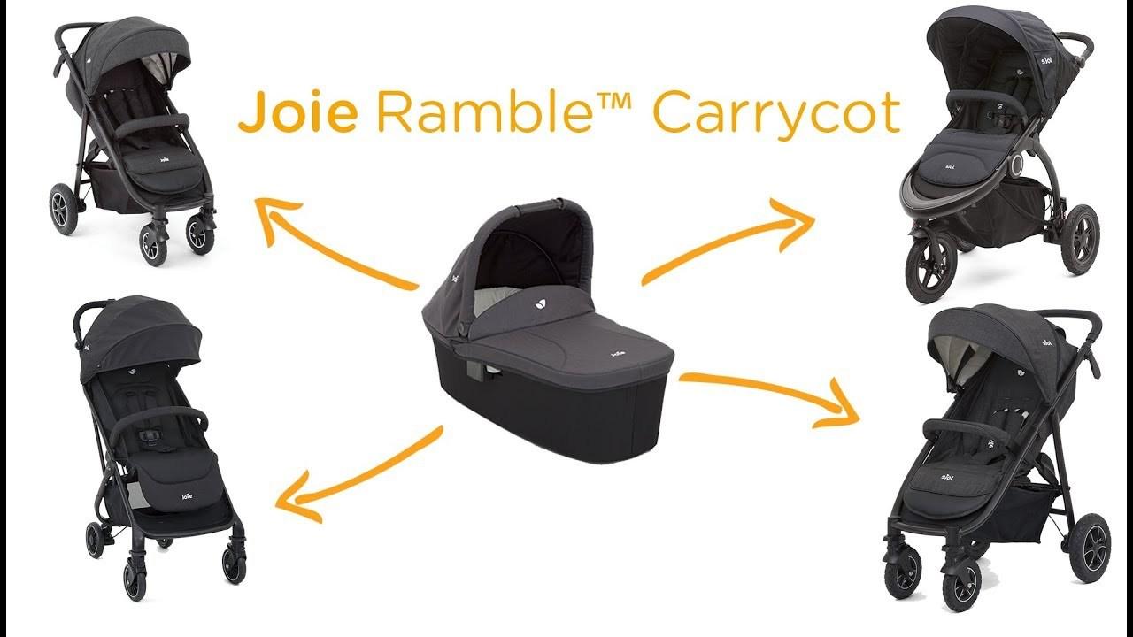 Люлька JOIE Ramble Carry Cot