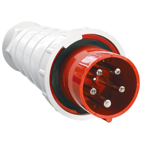 Вилка кабельная IP67 16А 3Р+РЕ+N 380В TDM