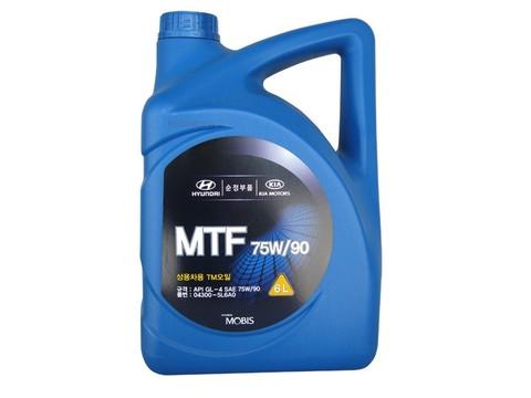 HYUNDAI MTF GL4 75W90 Масло трансмиссионное МКПП (пластик/Корея)