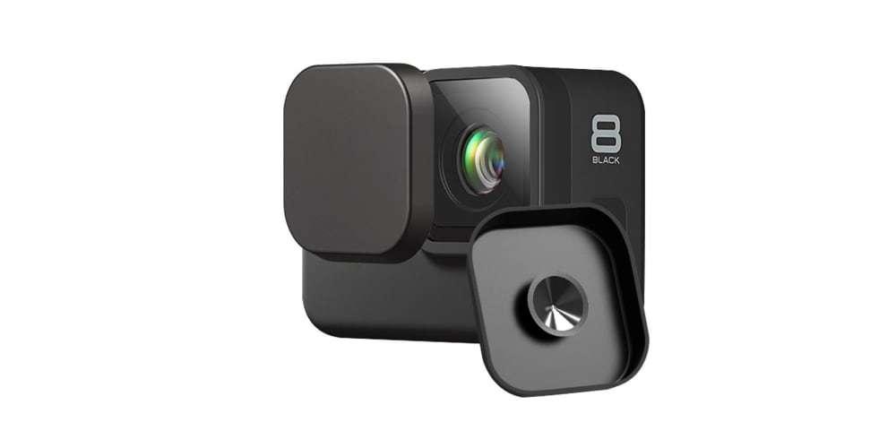 Защитная крышка на объектив камеры HERO8 Black на камере