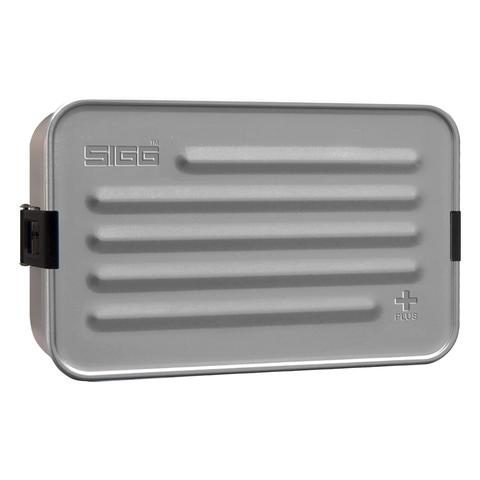 Ланчбокс Sigg Metal Box Plus L (1,4 литра), серый