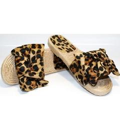 Шлепки обувь Small Swan mm26-5Leopard.