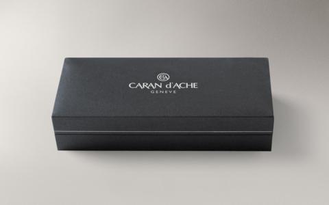 Carandache Leman - Ebony Black Lacquer GP, ручка-роллер, F