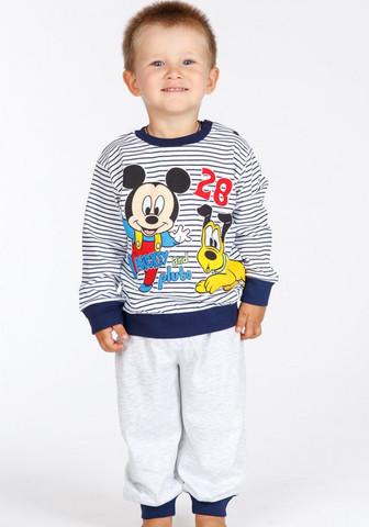 Легкая трикотажная пижамка с Mickey Mouse