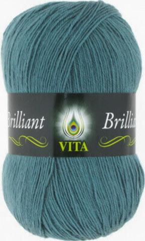 Пряжа Brilliant Vita 5116 Дымчато-голубой фото