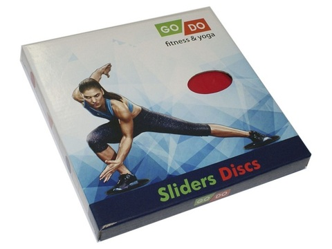 YJ-O3 Диски (слайдеры) скольжения для глайдинга Go Do круглые d=18 см к-т-2шт