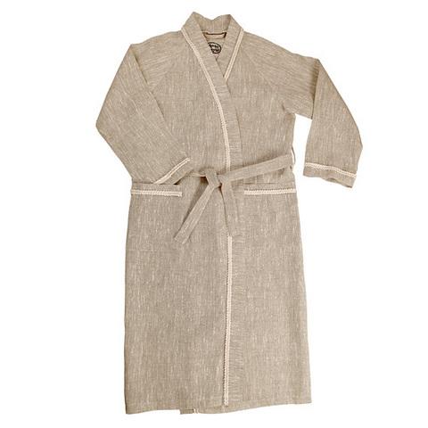 Халат для бани льняной ОННИ (размер 52-54)