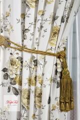 Комплект штор. Димаут Provance и вуаль (белый)